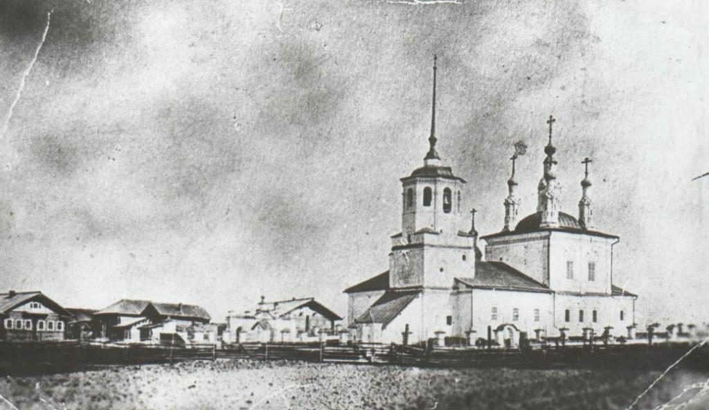 Храм Святой Троицы. Телеговский монастырь
